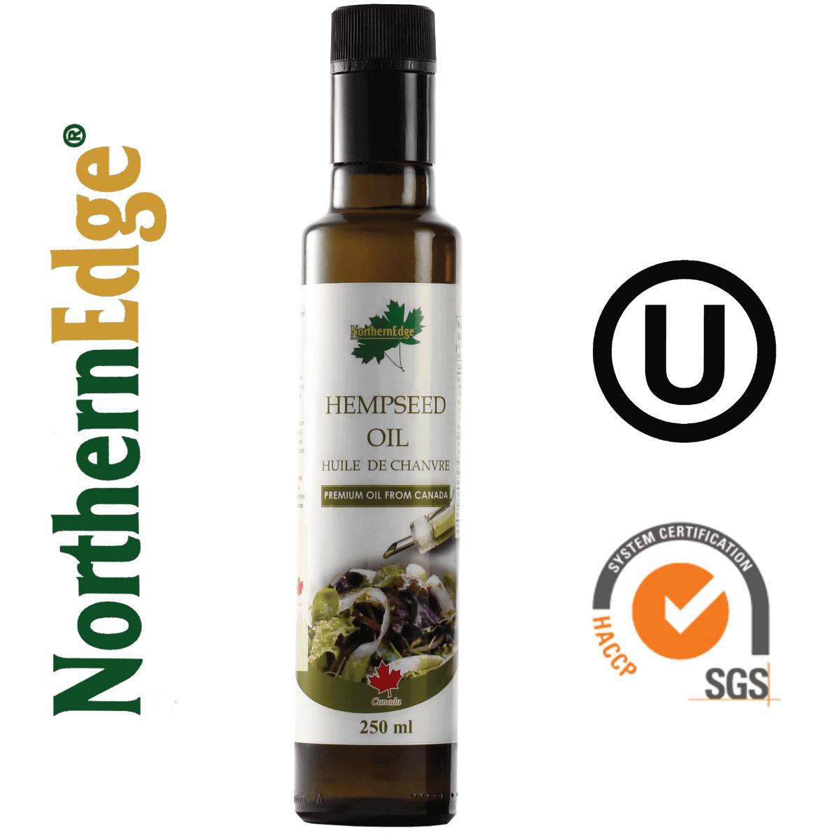 NorthernEdge® Organic & Conventional Hemp Oil or Hempseed Oil